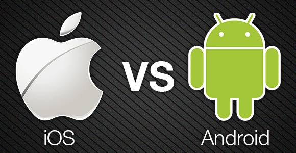 IOS  vs  ANDROİD